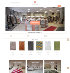 flooring ecommerce kamals
