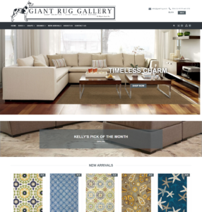 website for rug, home furnishings